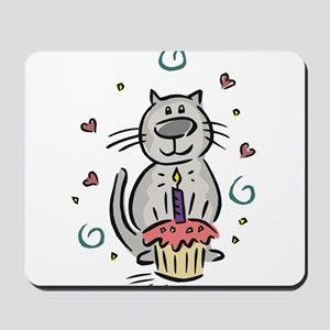 BIRTHDAY KITTY [2] Mousepad
